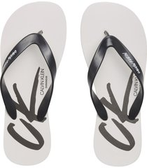 sandalia ff sandals blanco calvin klein