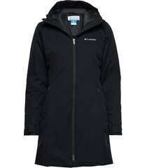 autumn rise mid jacket parka rock jacka blå columbia