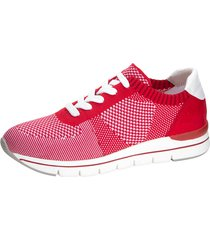 sneakers marco tozzi röd