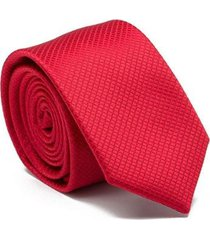 gravata square - red key design masculina