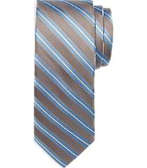 awearness kenneth cole blue & gray stripe narrow tie