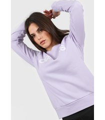 buzo violeta adidas essentials linear