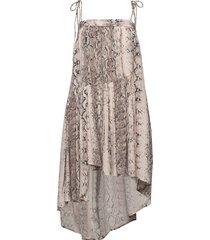 fiona dress knälång klänning multi/mönstrad ravn