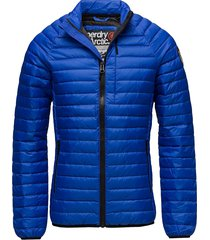 core down jacket gevoerd jack blauw superdry
