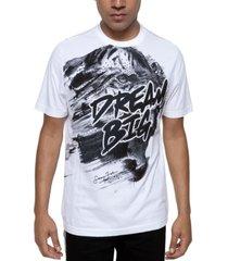 sean john men's beaded dream big tiger t-shirt