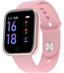 pantalla color tracker pulsera t80 smart watch band pulsera