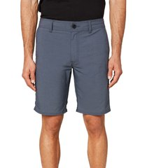 men's o'neill stockton hybrid water resistant swim shorts, size 38 - blue