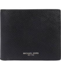 michael kors logo stamp wallet