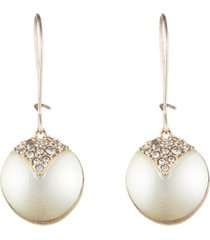 women's alexis bittar crystal encrusted drop earrings