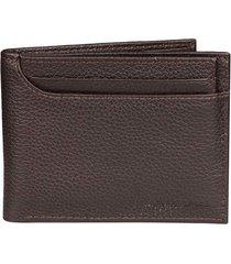billetera de cuero con textura para hombre 03625