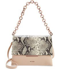 ted baker london abiagal shoulder bag - grey