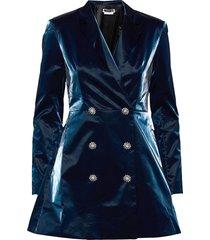 newton blazerdress kort klänning blå rotate birger christensen
