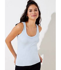 loft scoop neck outfit-making tank