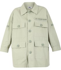 mm6 maison margiela multi-pockets jacket
