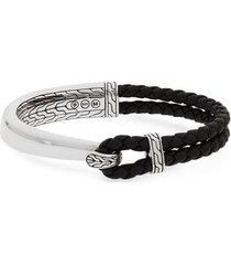 men's john hardy men's classic chain half cuff bracelet