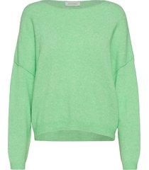 damsville stickad tröja grön american vintage