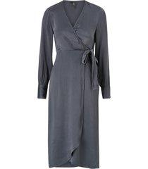 klänning vmgili 7/8 calf wrap dress