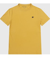camiseta amarillo-negro banana republic