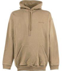 balenciaga hoodie in cotton
