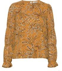 blouse blouse lange mouwen geel sofie schnoor