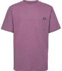 porterdale t-shirts short-sleeved lila dickies