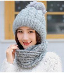 cappello invernale da donna con berretto lavorato a maglia in lana calda invernale con berretto sportivo da esterno soft