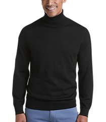 joseph abboud black 37.5® technology turtleneck sweater