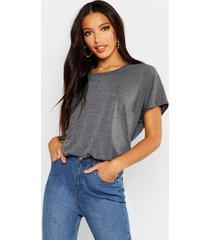 basic oversized t-shirt, charcoal