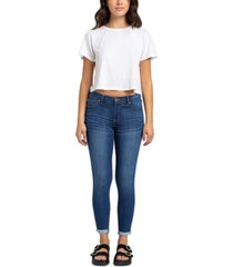 celebrity pink high-rise skinny ankle jeans
