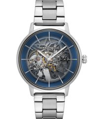 kenneth cole new york men's automatic stainless steel bracelet watch 41mm