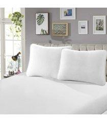 fronha para travesseiro rubi lisa 1 peã§a branco - sbx tãªxtil - branco - dafiti