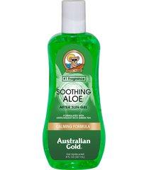 pós sol australian gold soothing aloe - 237ml único