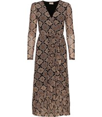 fqvida-dr dresses wrap dresses brun free/quent