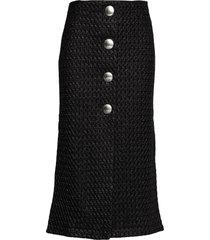 rodebjer leilani knälång kjol svart rodebjer