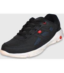 sapatênis ryn r905 sneaker preto/marinho