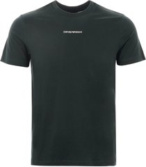 emporio armani logo t-shirt - verde 3g1t781j00z