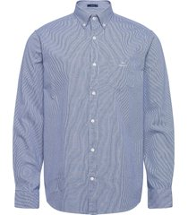 d1. bc structure reg bd overhemd casual blauw gant