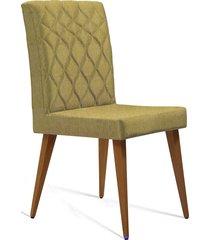 cadeira  julia  t1092 linhao mostarda daf mostarda