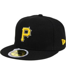 new era kids' pittsburgh pirates authentic collection 59fifty cap