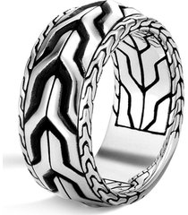 'asli classic chain' silver ring