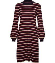 jaqueline knit dress jurk knielengte multi/patroon morris lady