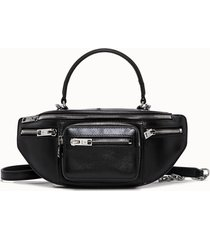alexander wang borsa attica soft mini colore nero