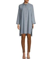 kyrie button-front blouse