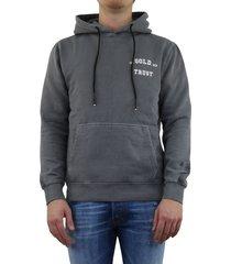 garment dye hoodie grijs