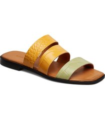 fugi sandals 10764 shoes summer shoes flat sandals gul samsøe samsøe
