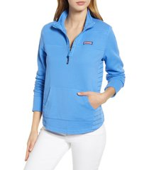 women's vineyard vines boathouse relaxed fit quarter zip pullover