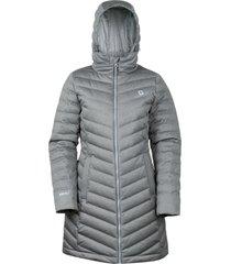 abrigo mujer lilit gris doite