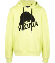 haculla gloss drop shoulder hoodie - green