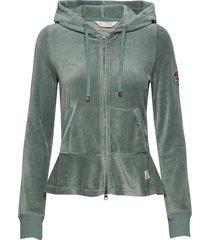 hygge jacket hoodie trui groen odd molly