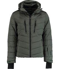 tenson jas powder airpush donkergroen 5015544/690